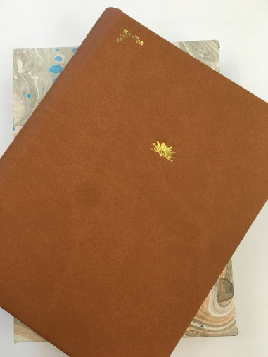 Cover of Canyons pressed with gold foil