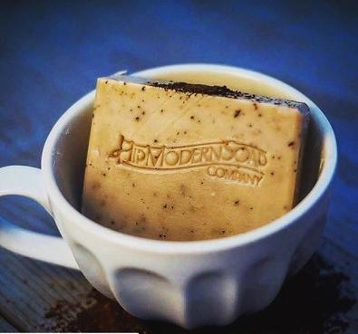 Coffee soap!