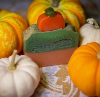 Themed Fall soap