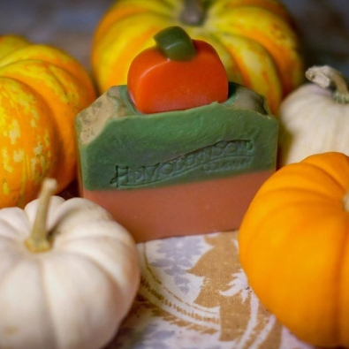 Themed Fall soap